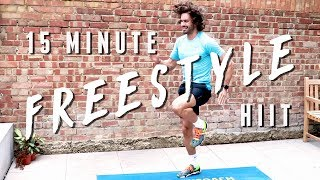 15 Minute Freestyle HIIT Workout | The Body Coach by The Body Coach TV