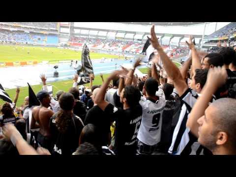"""""""Final de jogo na Loucos pelo Botafogo - Dalhe, Dalhe, Dalhe Botafogo..."""" Barra: Loucos pelo Botafogo • Club: Botafogo"""