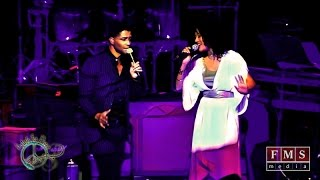 """Eric Benet feat. Judith Hill """"Spend My Life With You"""" Live - Never Again Peace Concert"""