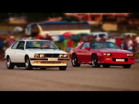 Cuba Drag Race: Second-Hand Sports Cars | Top Gear Series 24 | BBC