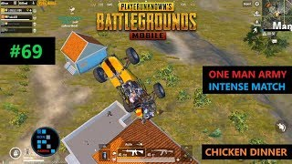 [Hindi] PUBG MOBILE | AMAZING ONE MAN ARMY SITUATION INTENSE MATCH WITH SUBS SQUAD