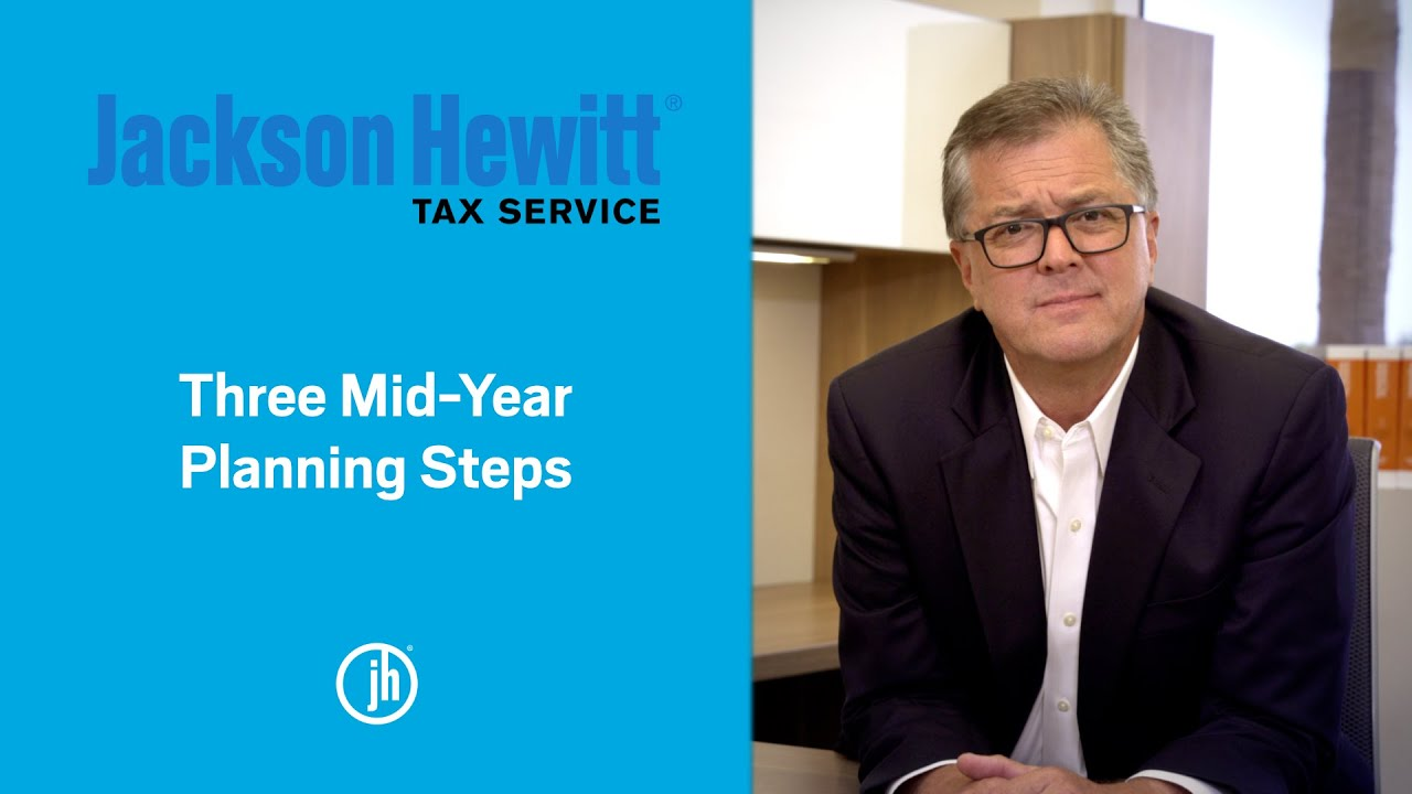 Mid-year tax planning steps to maximize your tax refund YouTube thumbnail