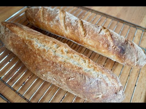 Download No Knead American Baguettes Easy No Mixer No Yeast Video