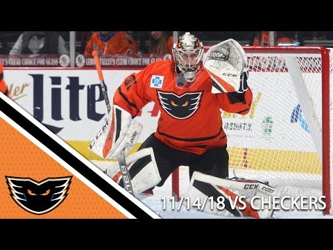 Checkers vs. Phantoms | Nov. 14, 2018