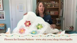 English Paper Piecing: Grandmothers Flower Garden Block Tutorial