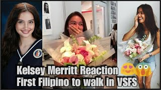 First Filipino VS Model Kelsey Merritt Reaction