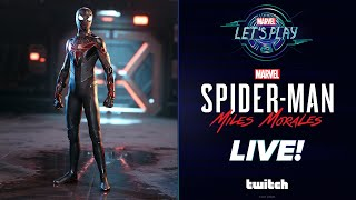 NEW Advanced Tech Suit in Marvel's Spider-Man: Miles Morales!   Marvel Let's Play