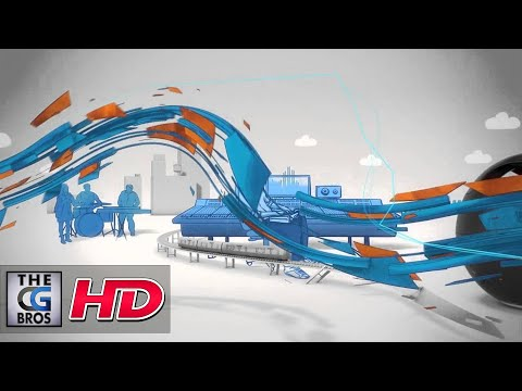"CGI 3D MoGraph Spot : ""Sony Music Unlimited"" by – FRAME"