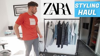 ZARA STYLING HAUL | Mens Casual Outfit Ideas 2020