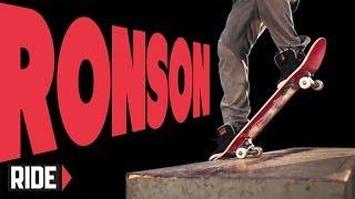 Ronson Lambert Skateboarding In Slow Motion - 5-0 Blunt Bigflip