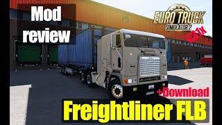 ETS2 1.31 MODS Freightliner FLB Обзор Модов Euro Truck Simulator 2