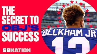 Odell Beckham Jr.'s skills, explained by his former teammate | Xs & Os w/ Geoff Schwartz, Ep. 1 thumbnail
