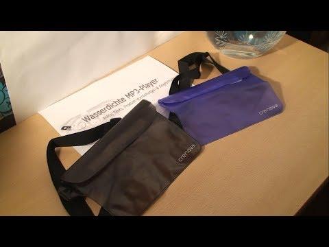 Produkttest - die wasserdichte Tasche von Crenova im Test - Vorsicht nass ❗❗