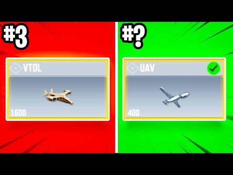 RANKING ALL SCORESTREAKS FROM WORST to BEST in COD: Mobile!!