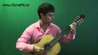 GREENSLEEVES - performed by Alexander Chuyko / on acoustic guitar - зеленые рукава на гитаре