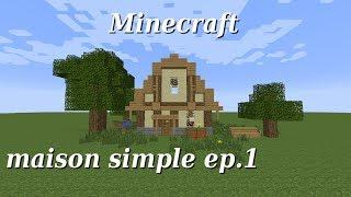 Maison Simple Tuto Minecraft самые лучшие видео