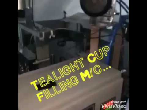 Tea Light Cup Filling Machine