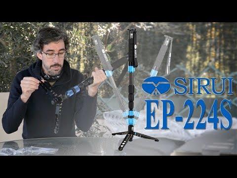 Monopíe Trípode Para Foto y Vídeo | Review SIRUI P224S |