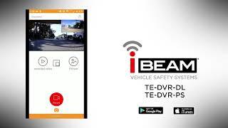 Metra iBeam TE-DVR-PS Water Resistant Car Dual-Camera Dash Cam Video and DVR