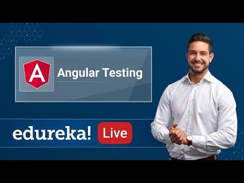 Angular Live - 5 | Angular Testing Tutorial For Beginners | Angular ...