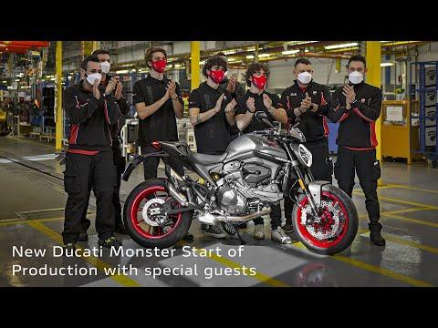 2022 Ducati Monster in Elk Grove, California - Video 1
