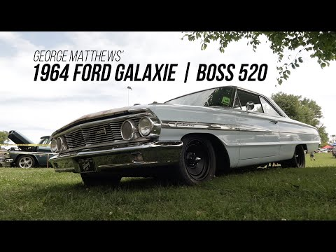 1964 Ford Galaxie Powered by a Boss 520CI Engine!