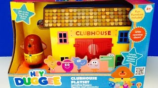 HEY DUGGEE Clubhouse Playset Toy Opening!