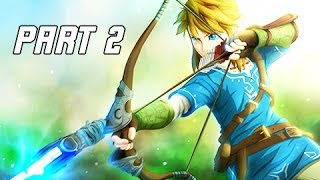 Legend of Zelda Breath of the Wild Walkthrough Part 2 - Hyrule (Let's Play Commentary)