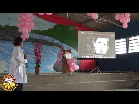 Dr Conceição faz Palestra no Outubro Rosa de Juquitiba 2016 organizado pelo Psf do Centro
