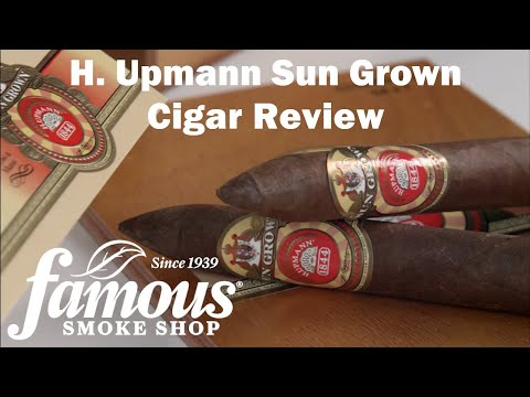 H. Upmann Sun Grown video