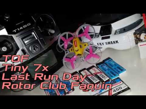 KingKong LDARC - Tiny 7x - Last Run Day - Rotor Club Faouin Le 01/04/2018