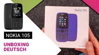 Nokia 105 Unboxing (deutsch)