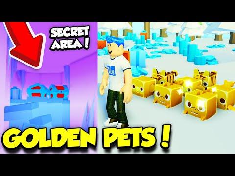 I Got A FULL TEAM OF GOLDEN PETS In Pet Simulator 2 Update And Found The SECRET AREA! (Roblox)