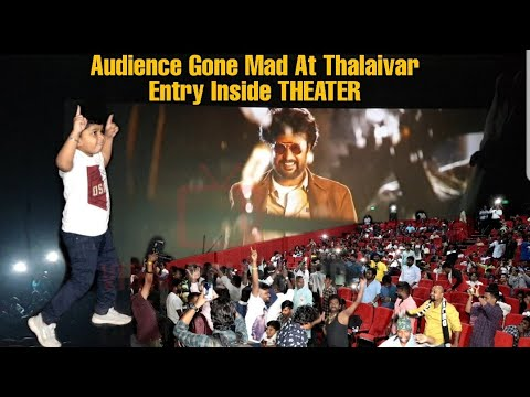 Download Audience Gone MAD At Thalaivar Entry INSIDE THEATER| Darbar First Day First Show Mp4 HD Video and MP3