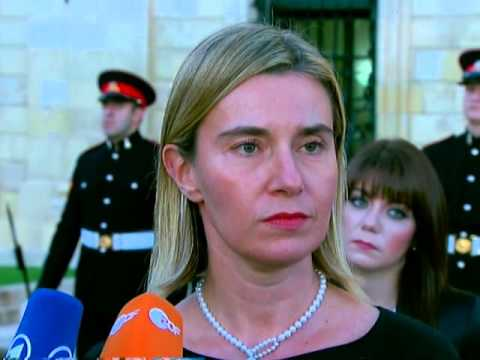 Federica Mogherini's remarks upon arrival at Valletta Summit