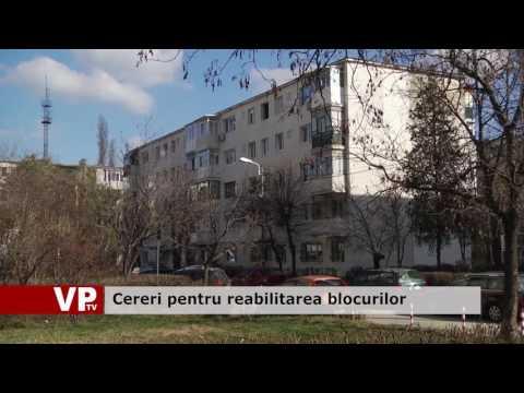 Cereri pentru reabilitarea blocurilor