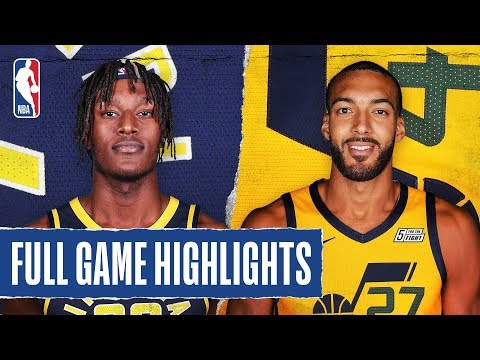 PACERS at JAZZ | FULL GAME HIGHLIGHTS | January 20, 2020