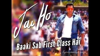 Baaki Sab First Class Hai |Jai Ho |Choreography   - YouTube