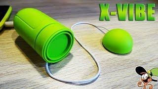 НЕВЕРОЯТНАЯ КОЛОНКА X-VIBE С РЕЗОНАТОРОМ! - UnBoxing