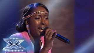 "Ashly Williams ""Doesn't Want To Miss A Thing"" - THE X FACTOR USA 2013"