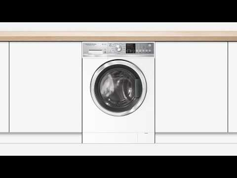 Fisher & Paykel Freestanding Washer Dryer WD8060P1 - White Video 1