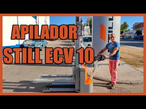 INSTRUCCIONES DE USO Y MANEJO. COMO FUNCIONA EL APILADOR ELÉCTRICO STILL ECV 10