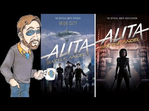 Alita Battle Angel Prequel and Novelization