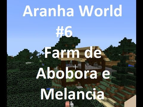 Aranha Word #6 Farm de Abóbora e Melancia Automática
