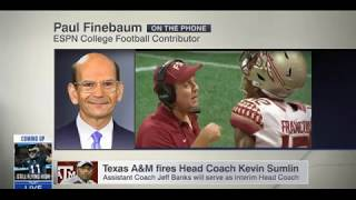 Paul Finebaum discusses Jimbo Fisher to Texas A&M