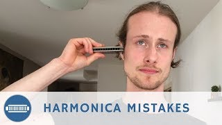 Top 5 Mistakes That Beginner Harmonica Players Make