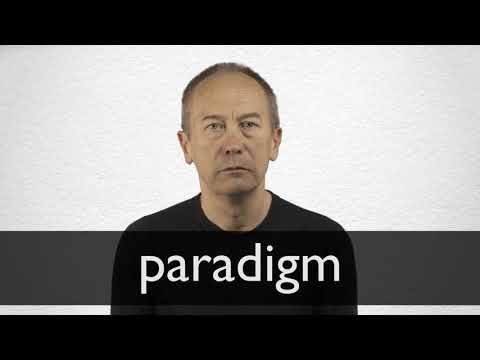 paradigm synonyme collins englischer