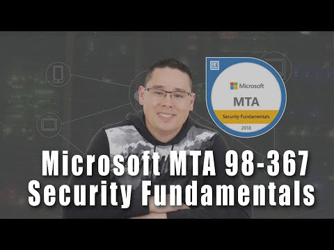 Why MTA Certifications? | Domain 1: Microsoft MTA 98-367 Security ...