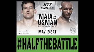 UFC Chile: Maia vs Usman Bets, Picks, Predictions on Half The Battle (UFC Fight Night 129)