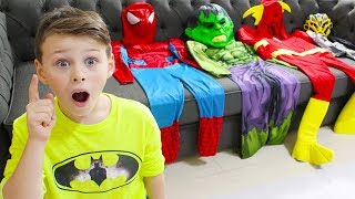 Superhero Ali Pretend Play Rescue Mission